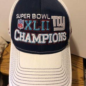 NY Giants Super Bowl XLII Cap